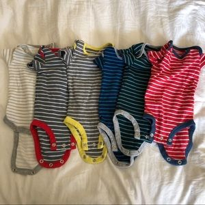 Other - Bundle 6 striped onesies